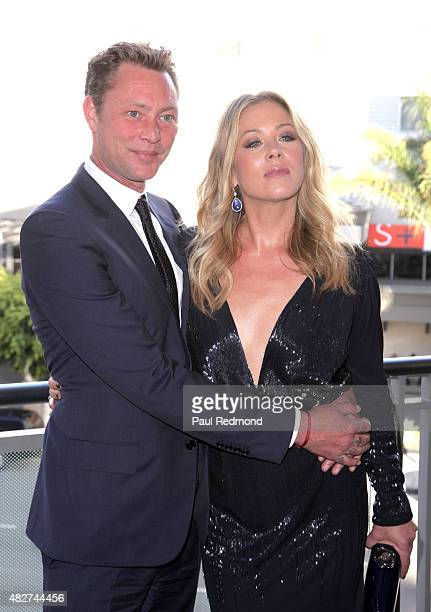 Christina Applegate and her husband Martyn LeNoble attend the Dizzy Feet Foundation's 5th Annual Celebration Of Dance Gala at Microsoft Theater on...
