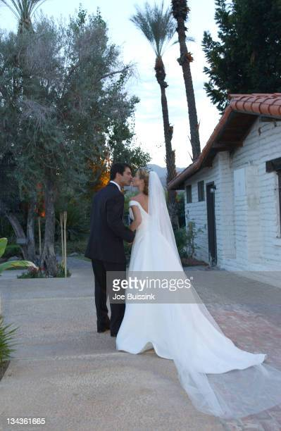 Christina Applegate and Johnathon Schaech were married in Palm Springs Ca on Sat October 20 2001 Stylist Jessica Paster dressed the bride and...