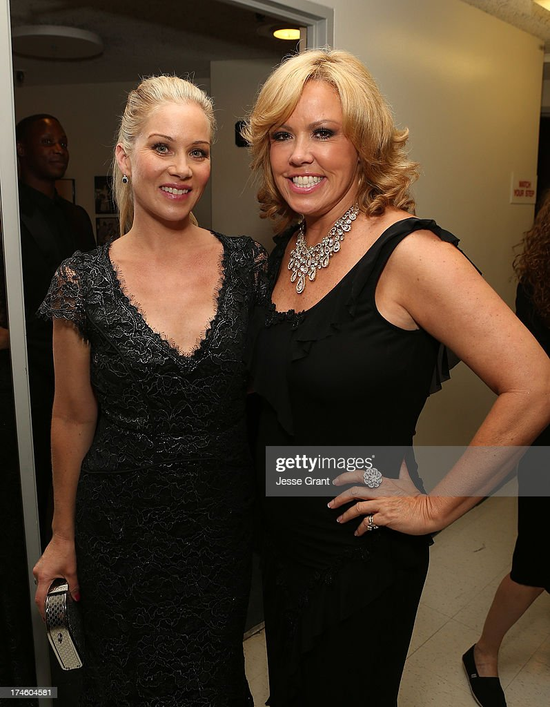 Christina Applegate and Mary Murphy attend the Dizzy Feet Foundation Third 'Celebration of Dance' Gala at The Music Center on July 27, 2013 in Los Angeles, California.