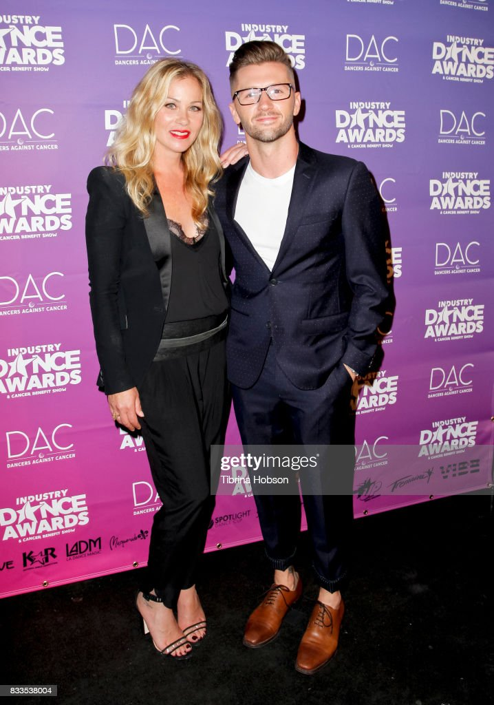 Christina Applegate and Travis Wall attend the 2017 Industry Dance Awards and Cancer Benefit Show at Avalon on August 16, 2017 in Hollywood, California.