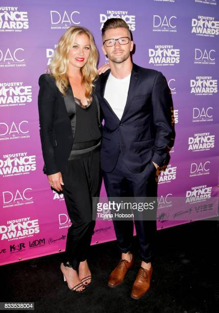 Christina Applegate and Travis Wall attend the 2017 Industry Dance Awards and Cancer Benefit Show at Avalon on August 16 2017 in Hollywood California
