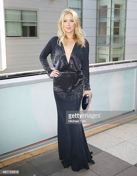 Christina Applegate arrives at Dizzy Feet Foundation's 5th Annual Celebration Of Dance Gala held at Club Nokia on August 1 2015 in Los Angeles...