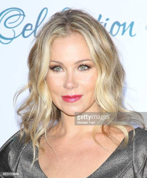Christina Applegate arrives at The Dizzy Feet Foundation's 4th Annual Celebration of Dance Gala held at Dorothy Chandler Pavilion on July 19 2014 in...