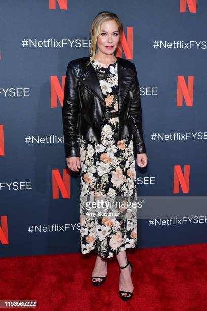 Christina Applegate attends Dead To Me #NETFLIXFYSEE For Your Consideration Event at Netflix FYSEE At Raleigh Studios on June 03 2019 in Los Angeles...