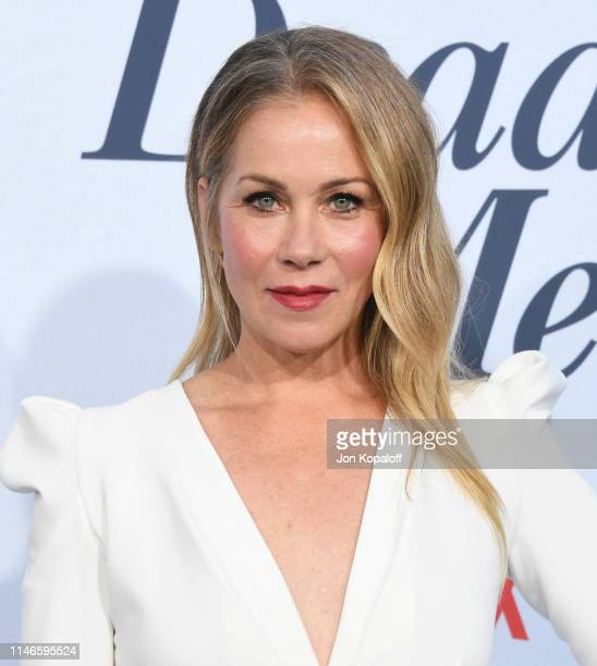Christina Applegate attends Netflix's Dead To Me Season 1 Premiere at The Broad Stage on May 02 2019 in Santa Monica California