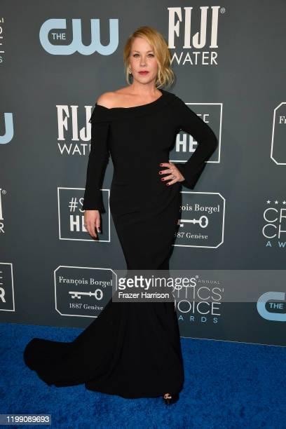 Christina Applegate attends the 25th Annual Critics' Choice Awards at Barker Hangar on January 12 2020 in Santa Monica California