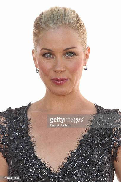 Christina Applegate attends the 3rd Annual Dizzy Feet Foundation's Celebration Of Dance Gala at Dorothy Chandler Pavilion on July 27 2013 in Los...