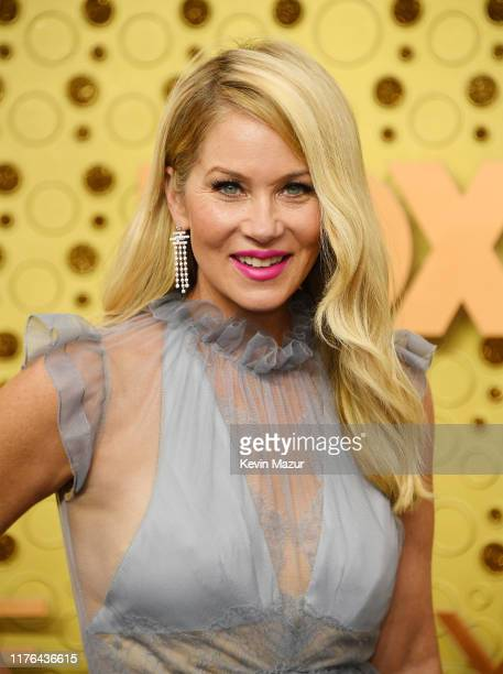 Christina Applegate attends the 71st Emmy Awards at Microsoft Theater on September 22 2019 in Los Angeles California