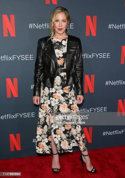 Christina Applegate attends the Dead To Me #NETFLIXFYSEE For Your Consideration Event held at Raleigh Studios on June 03 2019 in Los Angeles...