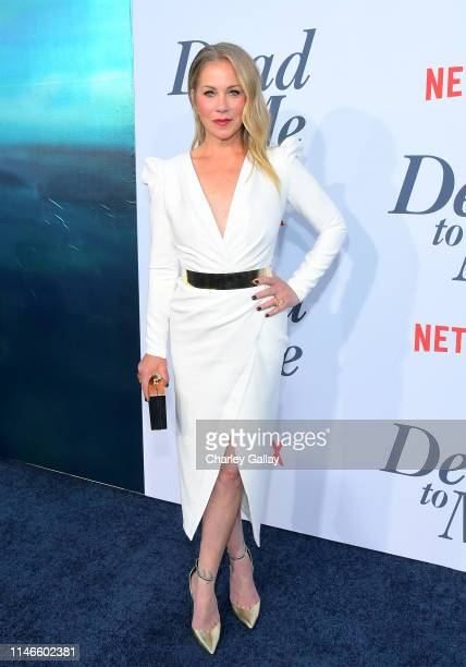 Christina Applegate attends the premiere of Netflix's 'Dead to Me' at The Eli and Edythe Broad Stage on May 02 2019 in Santa Monica California