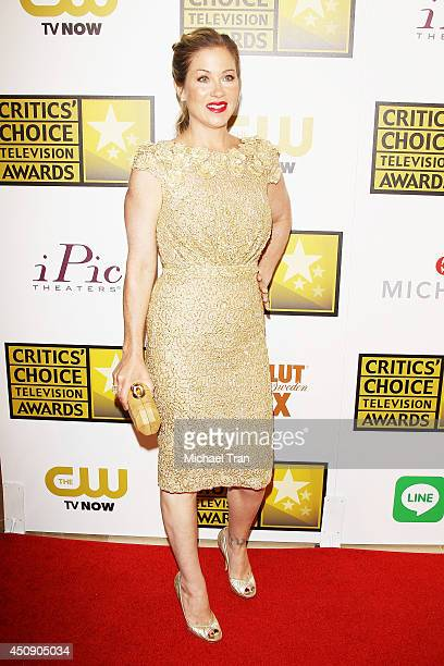 Christina Applegate attends the press room at the 4th Annual Critics' Choice Television Awards held at The Beverly Hilton Hotel on June 19 2014 in...
