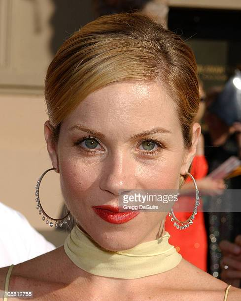 Christina Applegate during 2004 Emmy Creative Arts Awards Arrivals at Shrine Auditorium in Los Angeles California United States