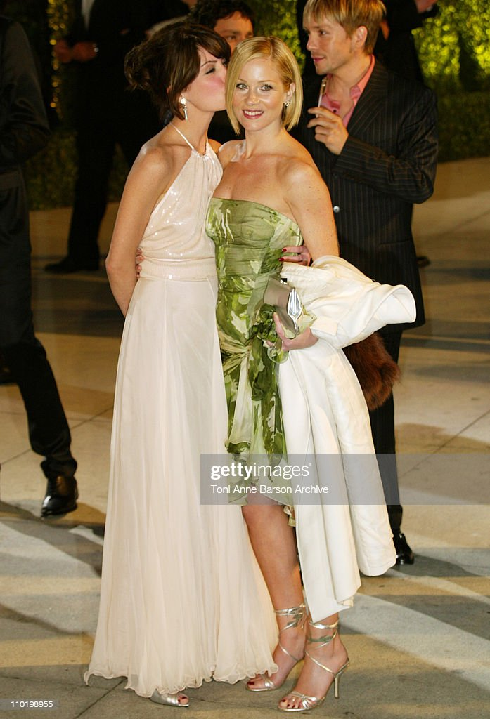 Christina Applegate during 2004 Vanity Fair Oscar Party - Arrivals at Mortons in Beverly Hills, California, United States.