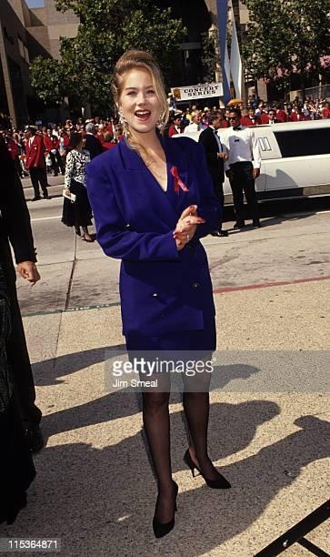 Christina Applegate during 43rd Annual Emmy Awards at Pasadena Civic Center in Pasadena California United States