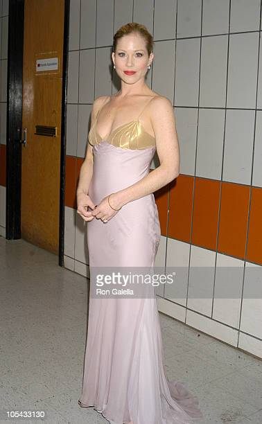 Christina Applegate during 50th Annual Drama Desk Awards Nominations Arrivals at Fiorello H LaGuardia High School in New York City New York United...