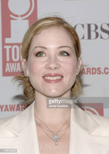 Christina Applegate during 59th Annual Tony Awards 'Meet The Nominees' Press Reception at The View at The Marriot Marquis in New York City New York...