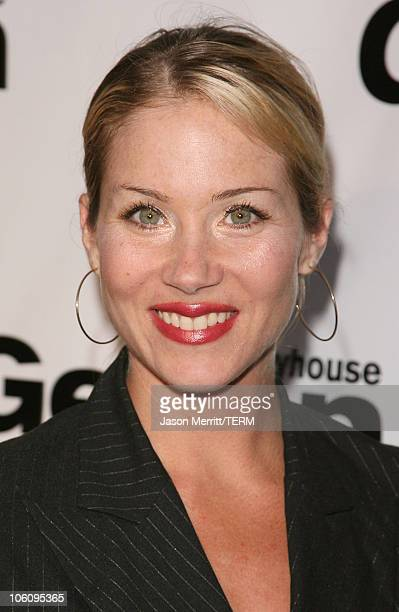 Christina Applegate during Geffen Playhouse's 5th Annual 'Backstage at the Geffen' Gala Fundraiser at Geffen Playhouse in Westwood California United...