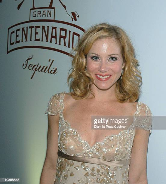 Christina Applegate during Gran Centenario and the Cast of 'Sweet Charity' Celebrate the 59th Annual Tony Awards at Hudson Hotel in New York City New...