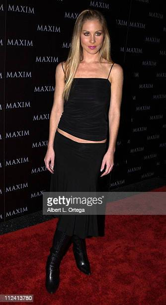 Christina Applegate during Live Performance by The Pussycat Dolls Hosted by Maxim Magazine Arrivals at The Henry Fonda Theater in Hollywood...