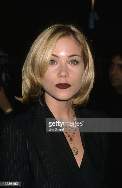 "Christina Applegate during ""Palmetto"" Los Angeles Premiere at Mann's Village Theatre in Westwood, California, United States."