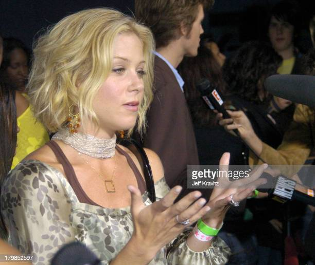 Christina Applegate during Rock The Vote 2004 National Bus Tour Concert June 16 2004 at Avalon in Hollywood California United States