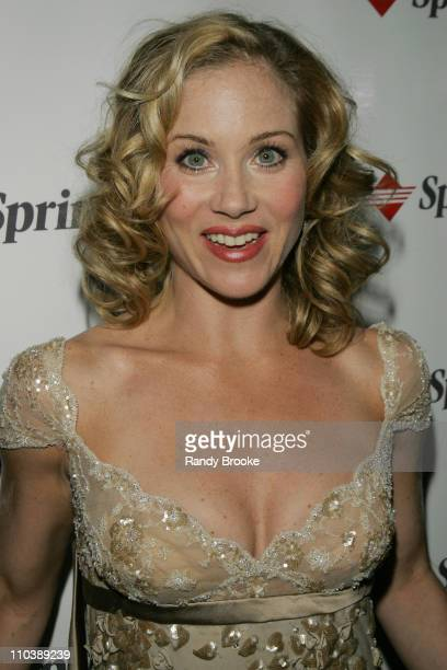 Christina Applegate during Sprint at the 59th Annual Tony Awards at Rainbow Room in New York City New York United States