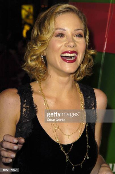 Christina Applegate during 'Surviving Christmas' Los Angeles Premiere Arrivals at Grauman's Chinese Theatre in Hollywood California United States