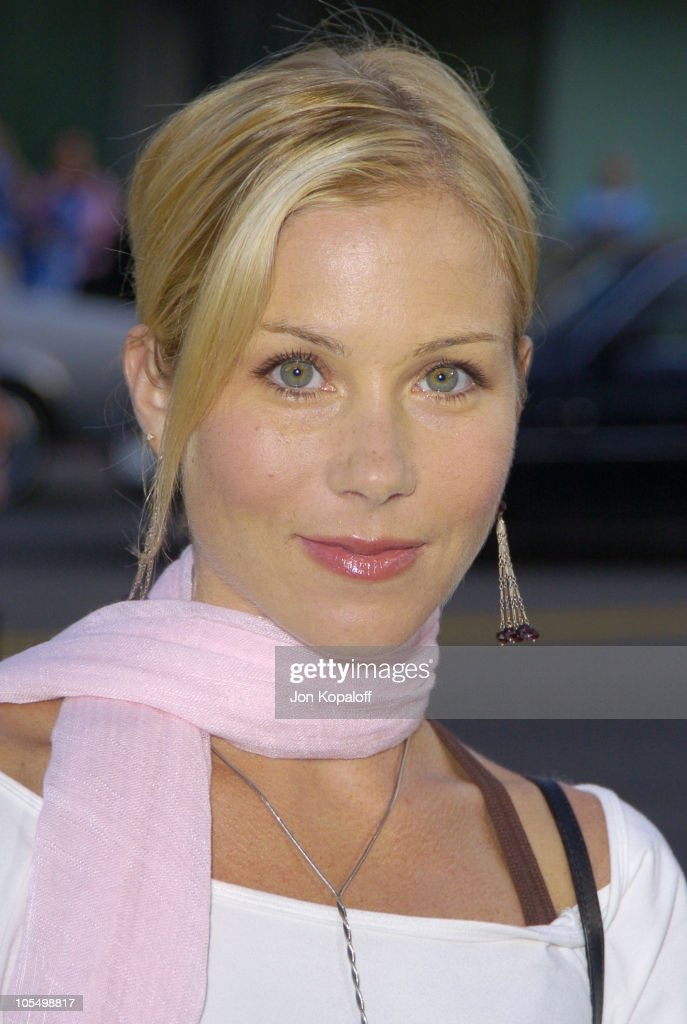 Christina Applegate during 'The Terminal' World Premiere - Red Carpet at Academy of Motion Picture Arts and Science in Beverly Hills, California, United States.