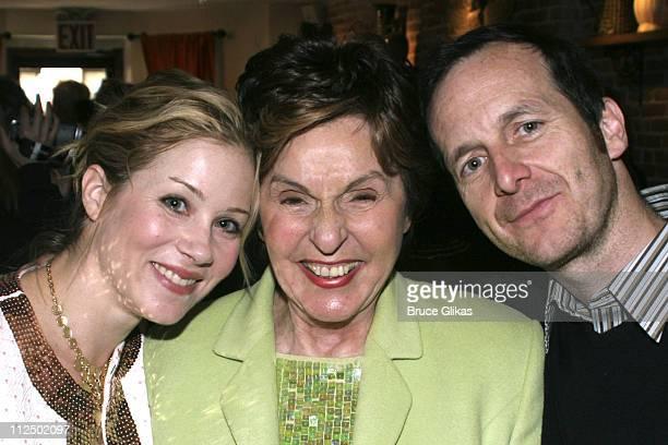 Christina Applegate Fran Weissler and Denis O'Hare