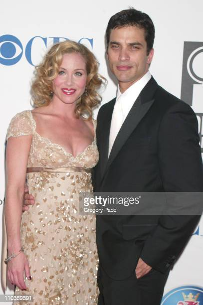 Christina Applegate nominee Best Performance by a Leading Actress in a Musical for Sweet Charity and Johnathon Schaech