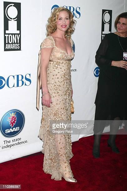 Christina Applegate nominee Best Performance by a Leading Actress in a Musical for Sweet Charity