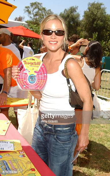 Christina Applegate with Tamagotchi Connection Virtual Pet