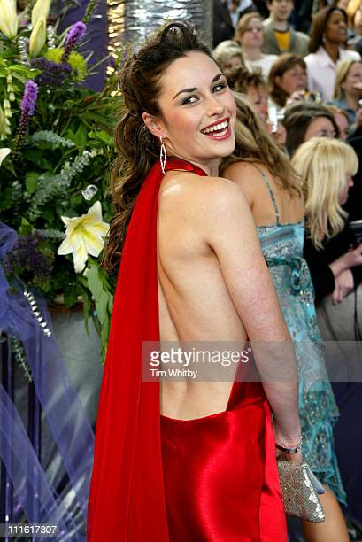 Christina Baily during The 2005 British Soap Awards Arrivals at BBC Tv Studios in London Great Britain