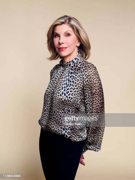 Christina Baranski of CBS's 'The Good Fight' poses for a portrait during the 2019 Winter TCA Portrait Studio at The Langham Huntington Pasadena on...