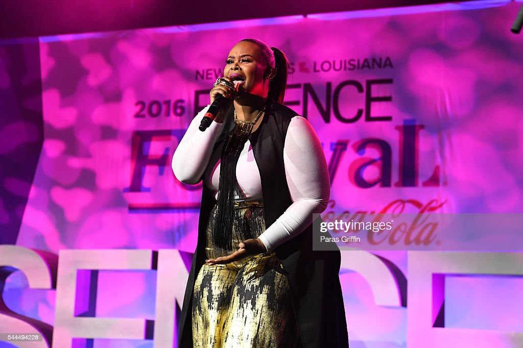 Christina Bell performs onstage at the 2016 ESSENCE Festival Presented By Coca-Cola at Ernest N. Morial Convention Center on July 3, 2016 in New Orleans, Louisiana.