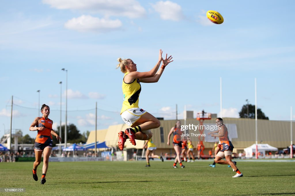 AFLW Rd 5 - GWS v Richmond : News Photo