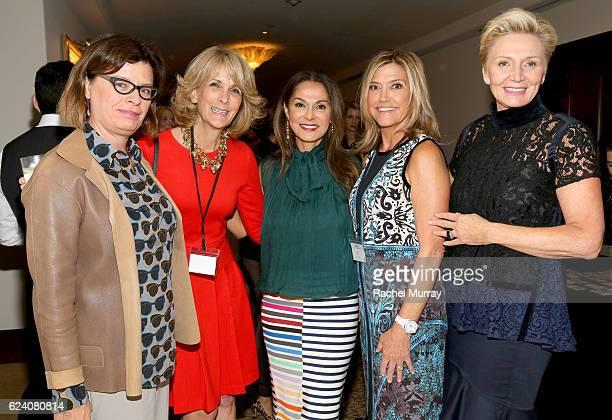 Christina Binkley Joelleen Wheeler CoFounder of Visionary Women Angella Nazarian Karen Murphy O'Brien and President of Visionary Women Shelley Reid...