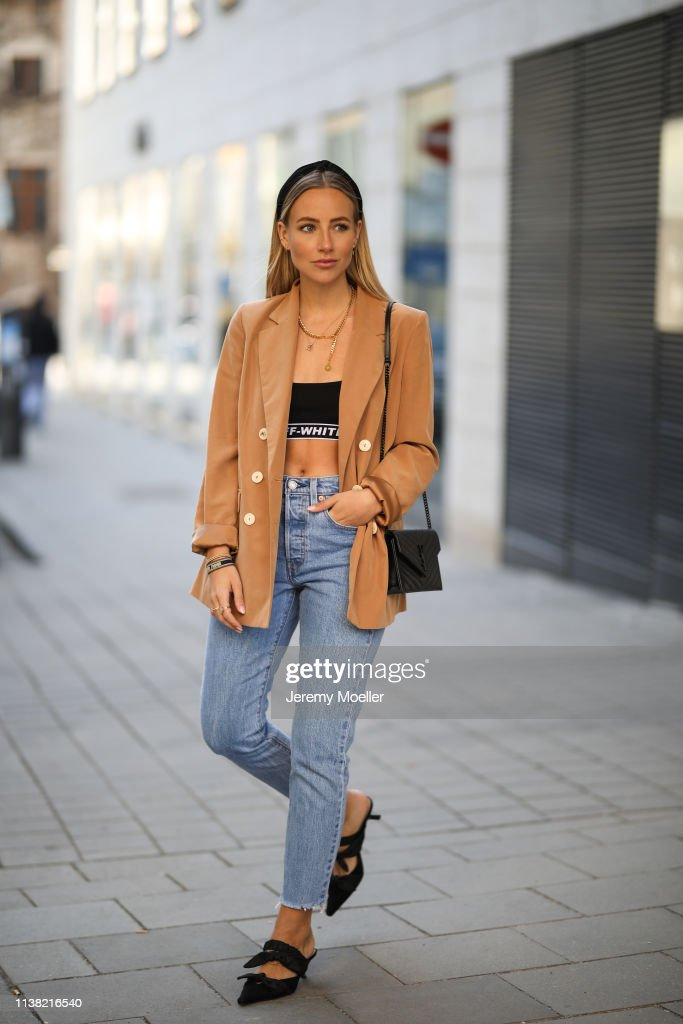 DEU: Street Style - Munich - March 24, 2019