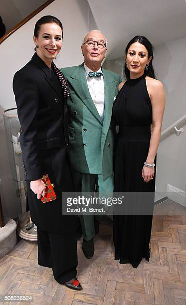 Christina Blahnik Manolo Blahnik and Jino Murad attend an evening of shopping and cocktails with Manolo Blahnik and British Vogue at the new Manolo...