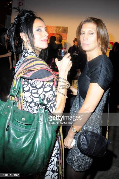 Christina Bloom and Vanessa Kostmayer attend SIXTEENTH ANNUAL ARTWALK NY Benefitting The Coalition For the Homeless at Skylight Studios 275 Hudson...