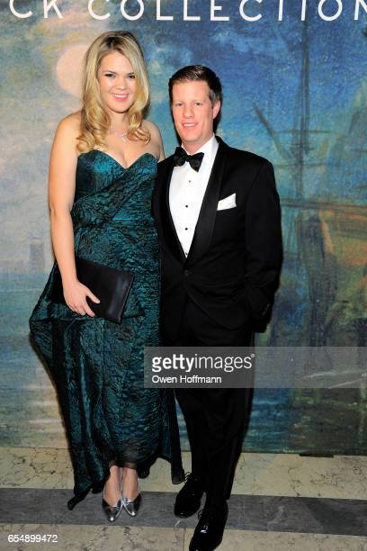 Christina Bott and John Murphy attend The Frick Young Fellows Ball 2017 at The Frick Collection on March 16 2017 in New York City