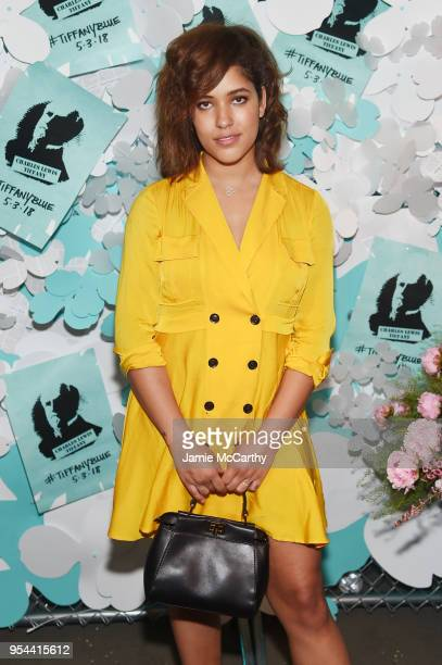 Christina Caradona attends the Tiffany Co Paper Flowers event and Believe In Dreams campaign launch on May 3 2018 in New York City