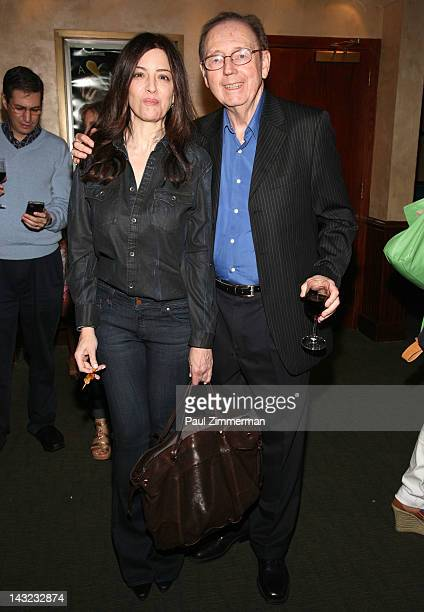 Christina Carlino and Bill Ayers attend the 2012 Kristen Ann Carr Fund A Night To Remember gala at the Tribeca Grill on April 21 2012 in New York City