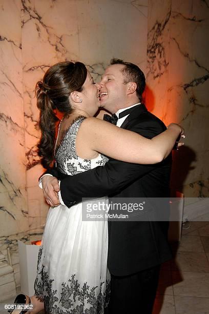 Christina Carrozza and Roger Tellefsen attend STEVEN ANGELA KUMBLE'S Wedding Celebration at Metropolitan Club on April 13 2007 in New York City