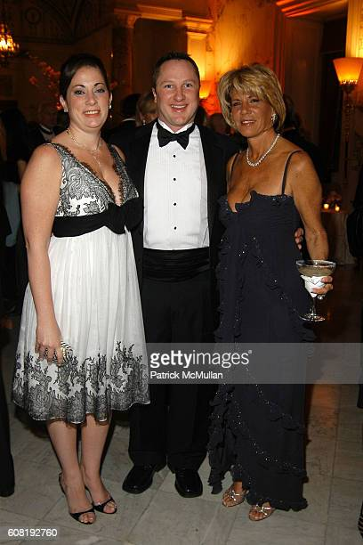 Christina Carrozza Roger Tellefsen and Angela Kumble attend STEVEN ANGELA KUMBLE'S Wedding Celebration at Metropolitan Club on April 13 2007 in New...