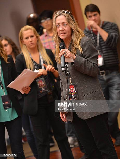 Christina Cassidy Director Communication The Grammy Foundation at The 55th Annual GRAMMY Awards GRAMMY Camp Basic Training held on the campus of USC...