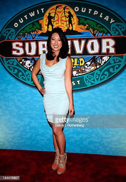 Christina Cha attends the 'Survivor One World' Finale at Ed Sullivan Theater on May 13 2012 in New York City