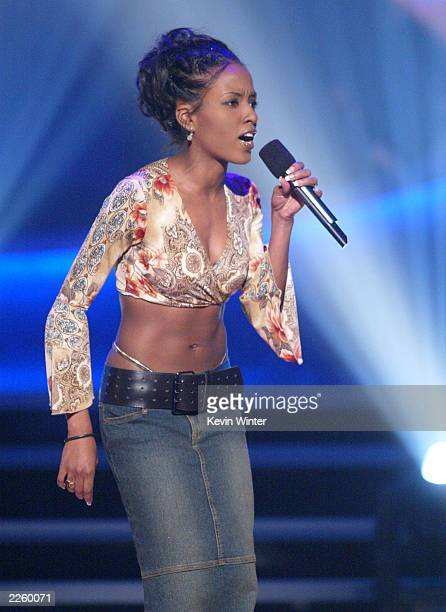"Christina Christian at FOX TV's ""American Idol"", broadcast live from Television City in Los Angeles, Ca. Tuesday, July 16, 2002. Photo by Kevin..."