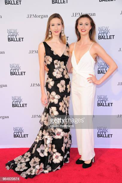Christina Clark Clara Frances attends New York City Ballet 2018 Spring Gala at David H Koch Theater Lincoln Center on May 3 2018 in New York City