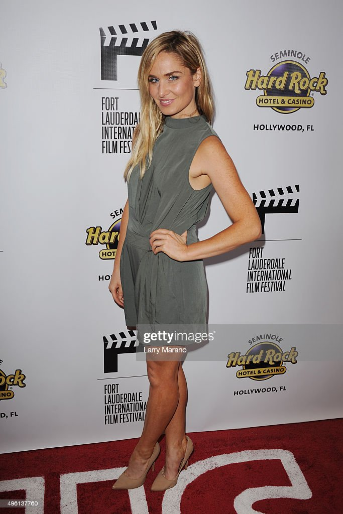 Christina Collard attends the Fort Lauderdale International Film Festival - Opening Night at Seminole Hard Rock Hotel on November 6, 2015 in Hollywood, Florida.